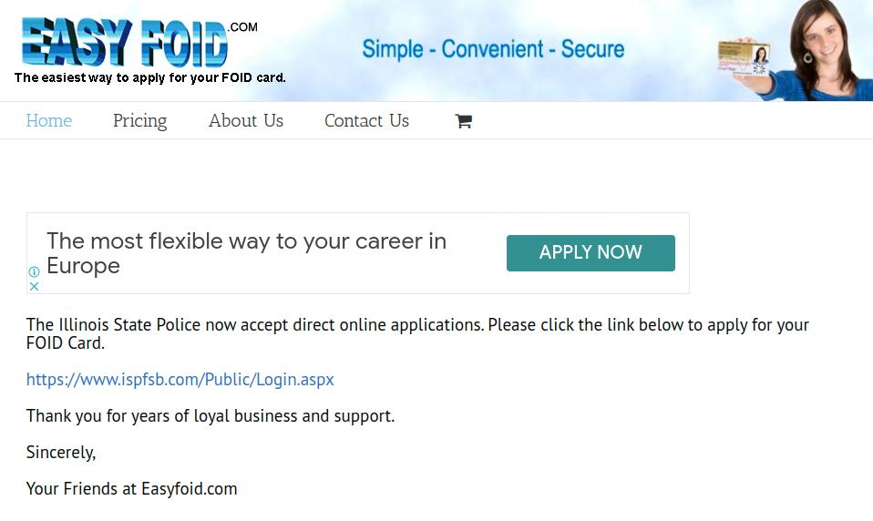 easyfoid.com - Apply For Your Illinois FOID ID Card ...